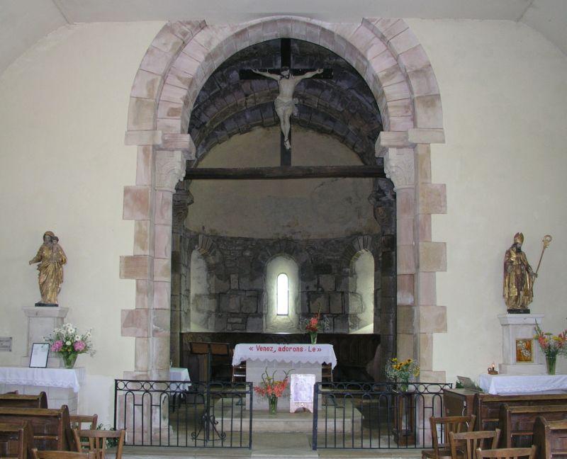 Église romane de Vareilles 5