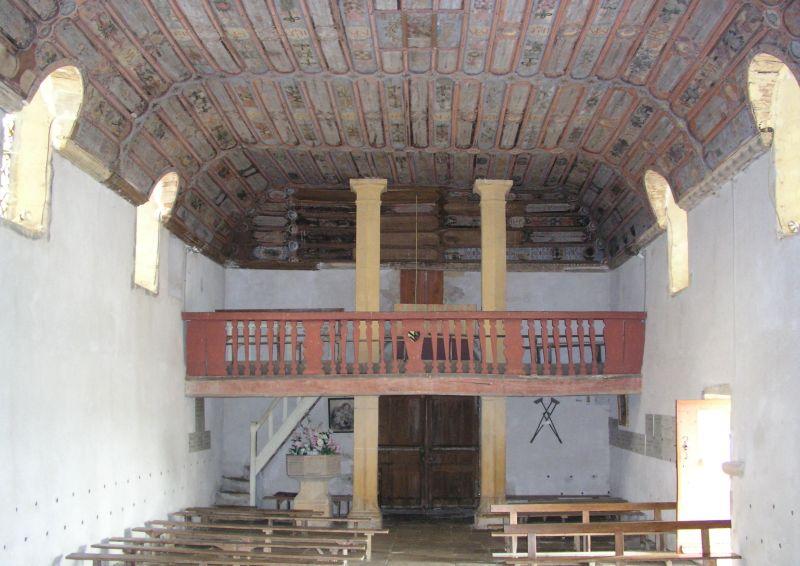 Nef de la chapelle Sancenay à Oyé