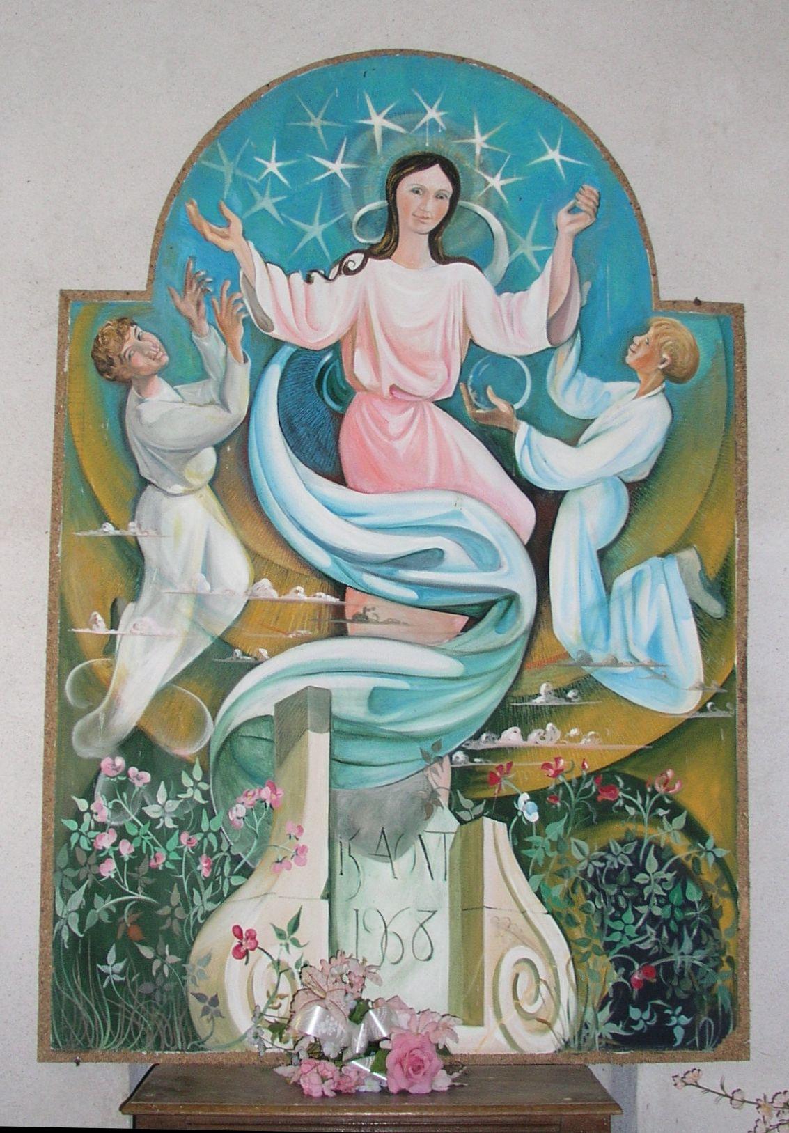 Oeuvre de Michel Bouillot, chapelle de Sancenay à Oyé