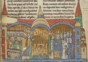 Hugues de Semur à Cluny en 1095