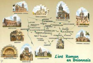 Circuit des églises romanes du Brionnais