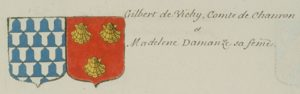 Blasons Vichy-Amanzé (d'Hozier)