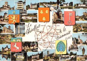 Carte postale du Charolais-Brionnais